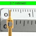 Punch da 0.7 millimetri di diametro per il trapianto capelli HD0.7